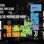 2018/19シーズンの会員マップ